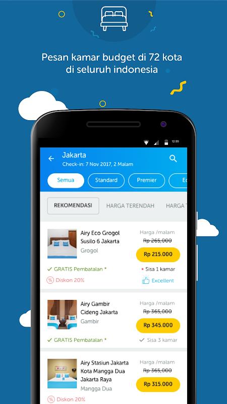 Airy - Tiket Pesawat & Hotel Murah 1.16.11 Screen 2