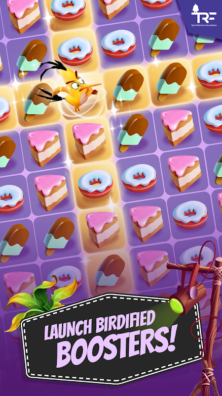 Android Angry Birds Match Screen 3