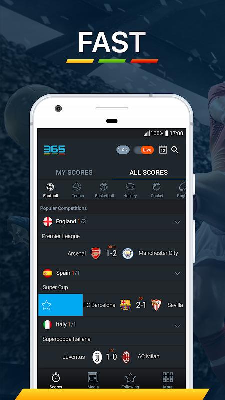 365Scores - Live Score 5.8.1 Screen 5