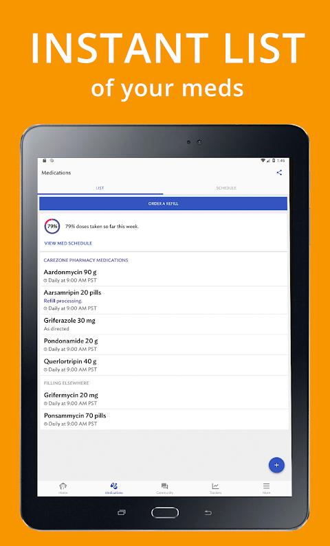 CareZone 8.0.4.1 (flagship) Screen 6