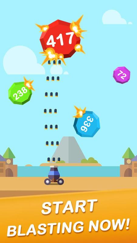 Android Jump Ball Blast Screen 4