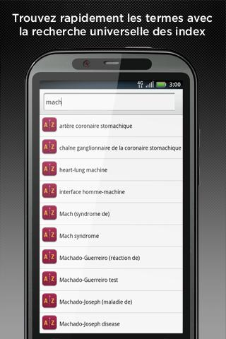 Android Dictionnaire Lavoisier Screen 2