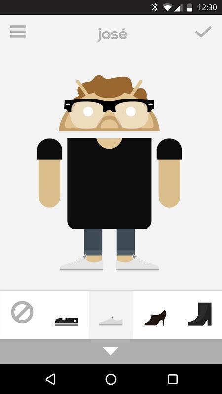 Androidify 4.2 Screen 1