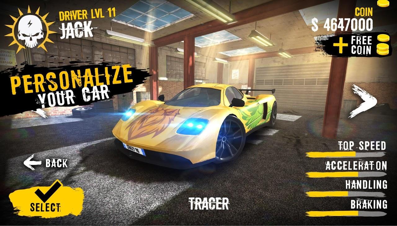 Android Extreme Asphalt : Car Racing Screen 3