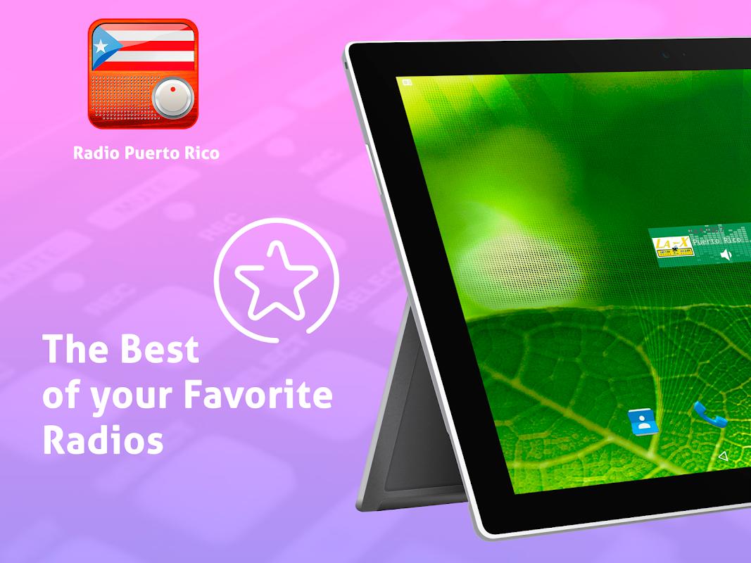 Android Free Puerto Rico Radio AM FM Screen 6