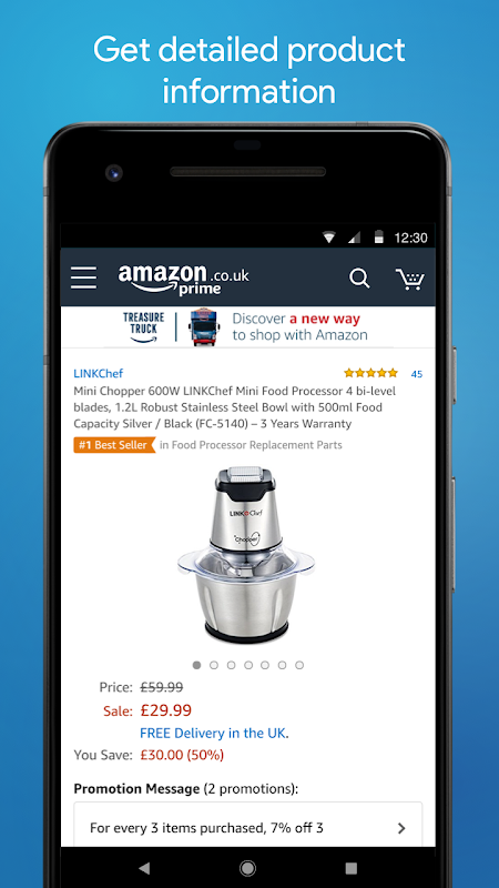 Android Amazon Shopping Screen 3