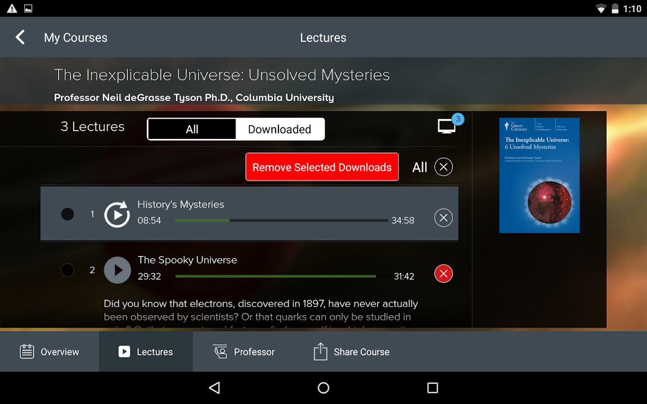 The Great Courses 5.2.4 Screen 14