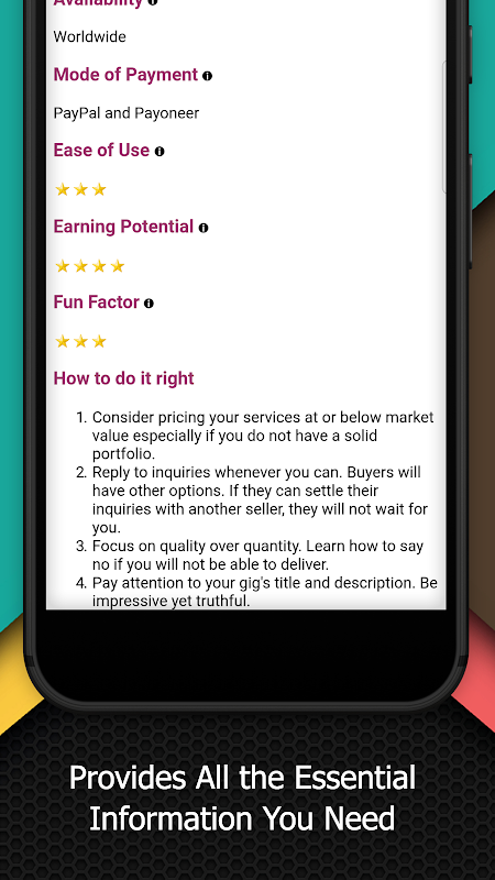 Earn Extra Income 3.1 Screen 4