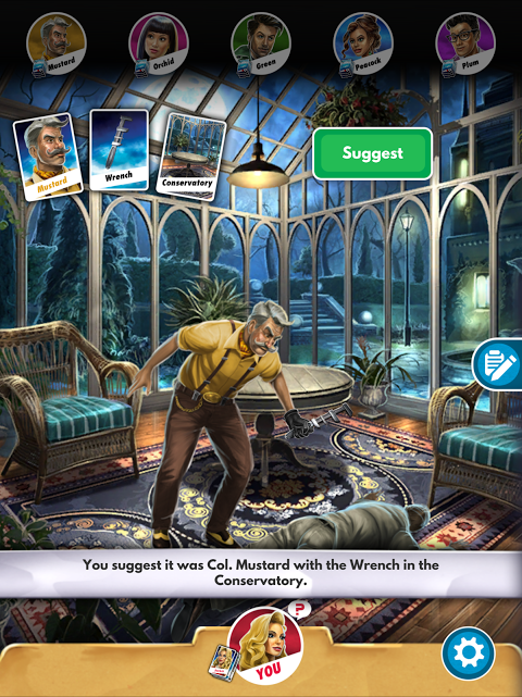 Android Cluedo Screen 6