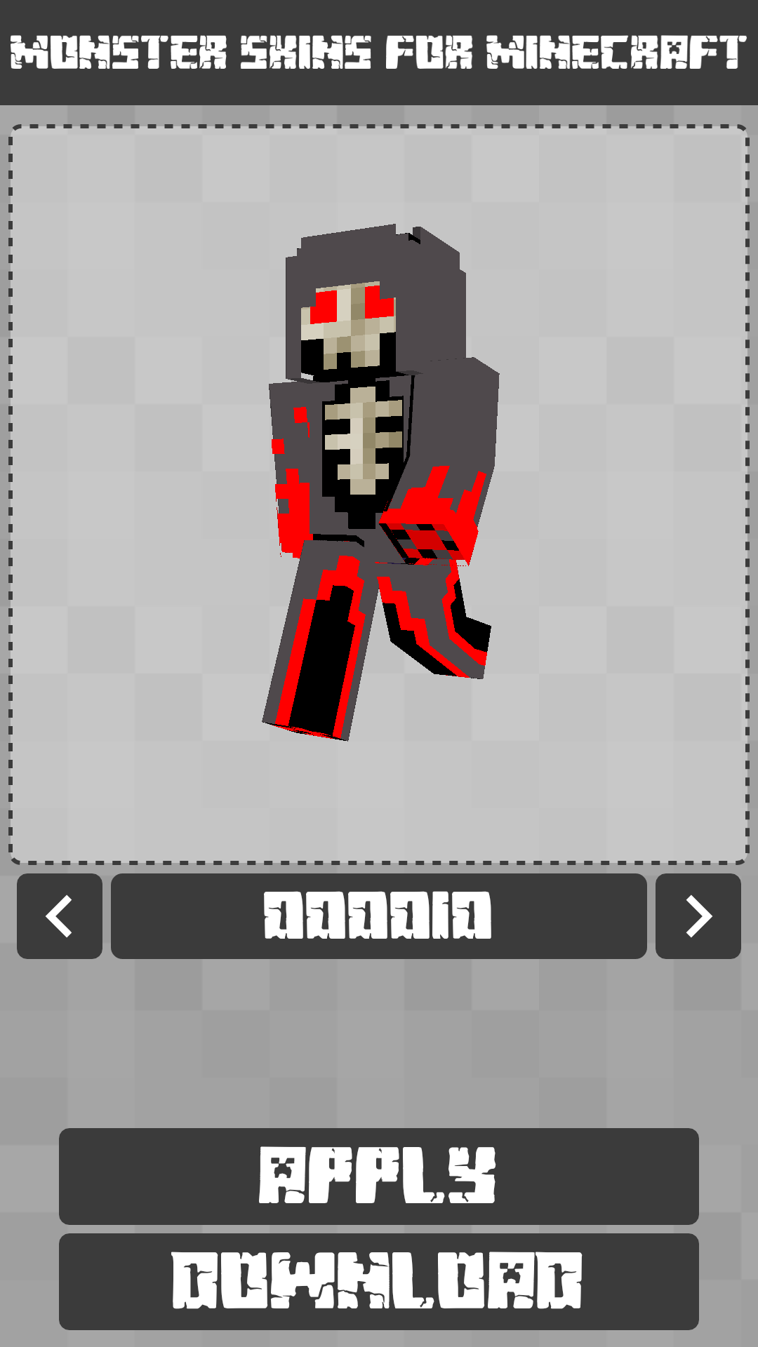 Android Monster Skins for Minecraft PE Screen 7