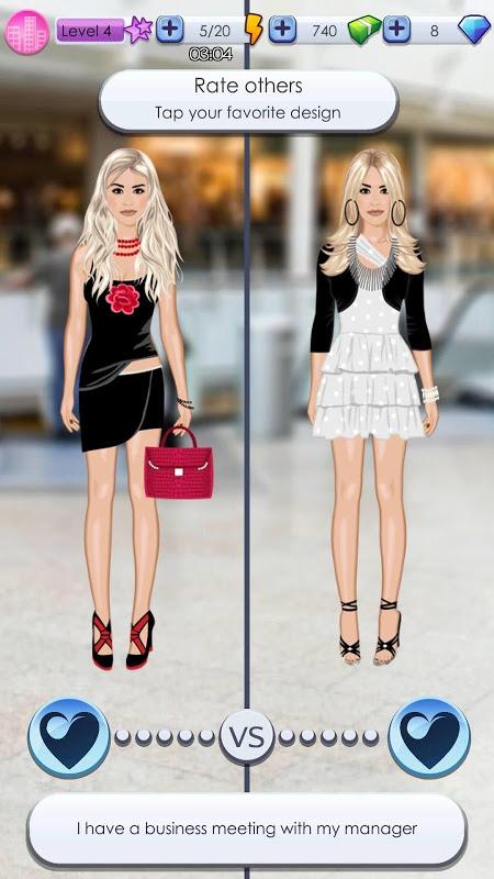 World of Fashion - Dress Up 1.4.4 Screen 2