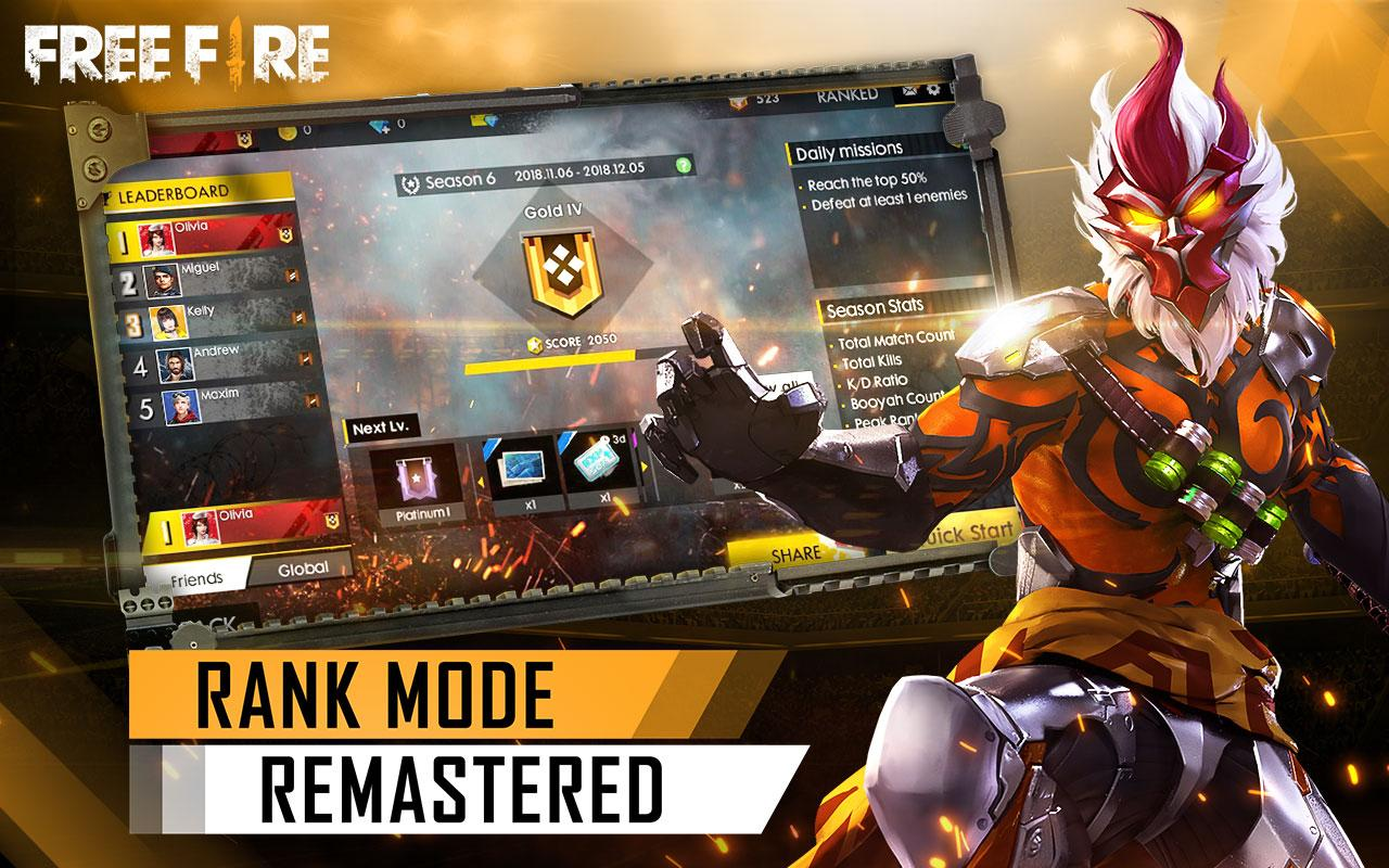 Android Garena Free Fire Screen 4