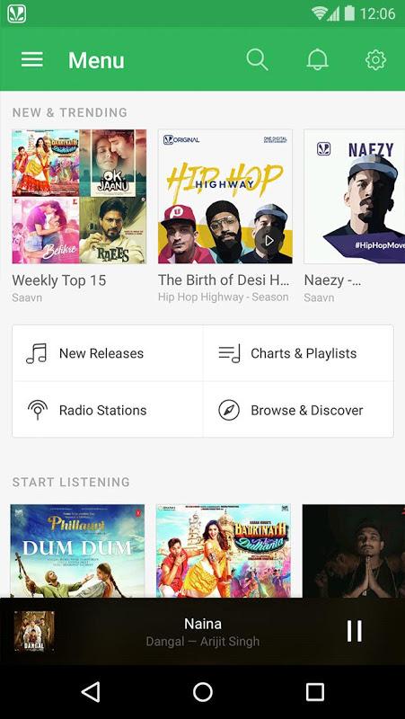 Saavn Music & Radio 5 18 2 APK Download by Saavn | Android APK