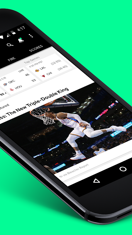 Bleacher Report 6.1.0 Screen 4