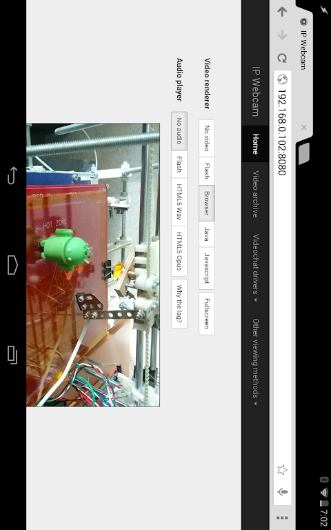 Android IP Webcam Screen 7