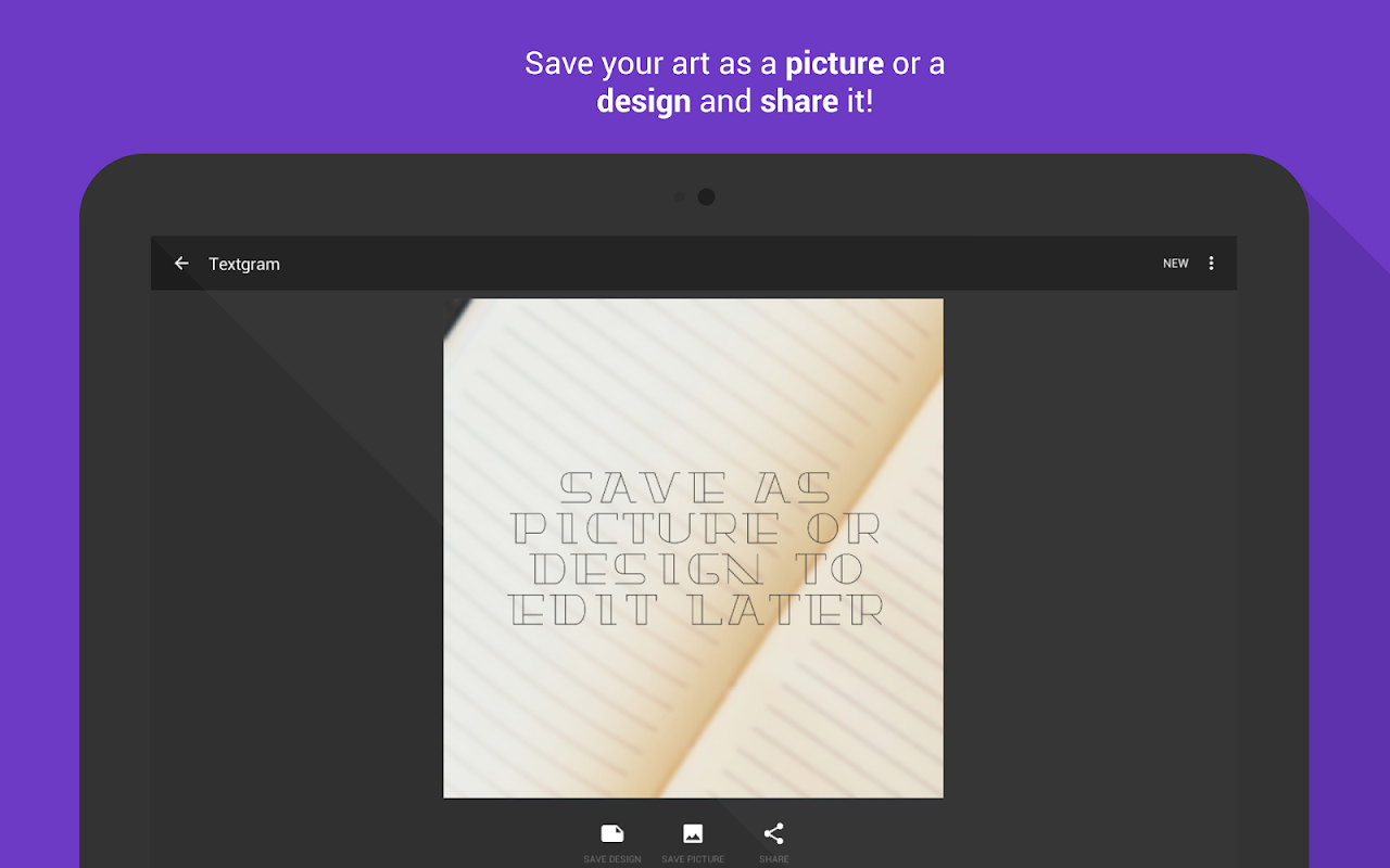 Android Textgram - write on photos Screen 14