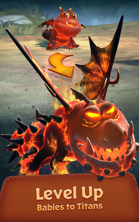 Android Dragons: Titan Uprising Screen 13