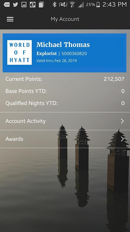 Hyatt Hotels 3.42.1 Screen 3