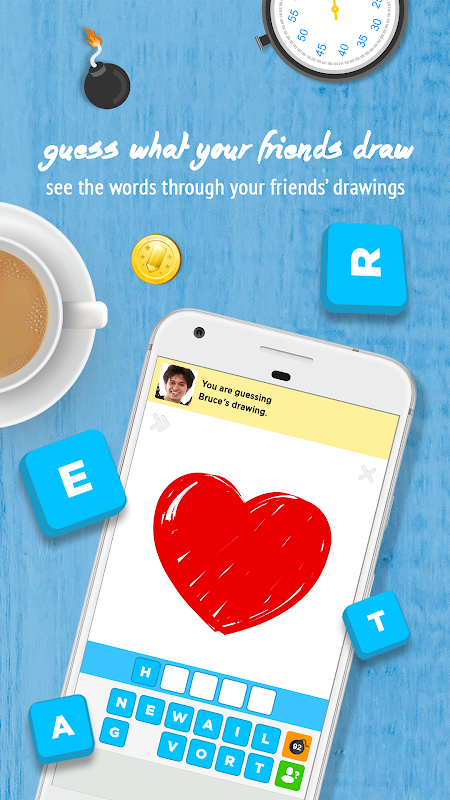 Android Draw Something Screen 1