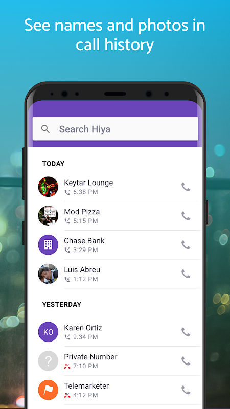 Hiya - Caller ID & Block 8.2.3-6703 Screen 2