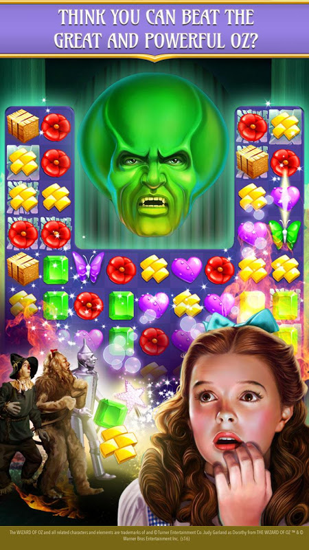 Android The Wizard of Oz Magic Match 3 Screen 9