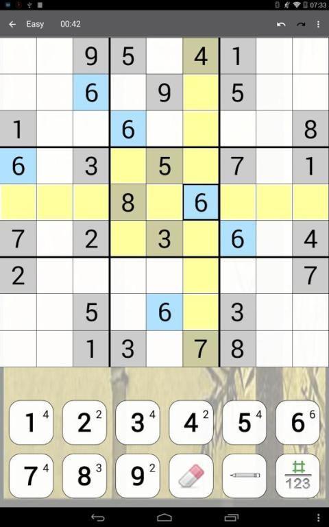 Sudoku 10.2.5.g Screen 6