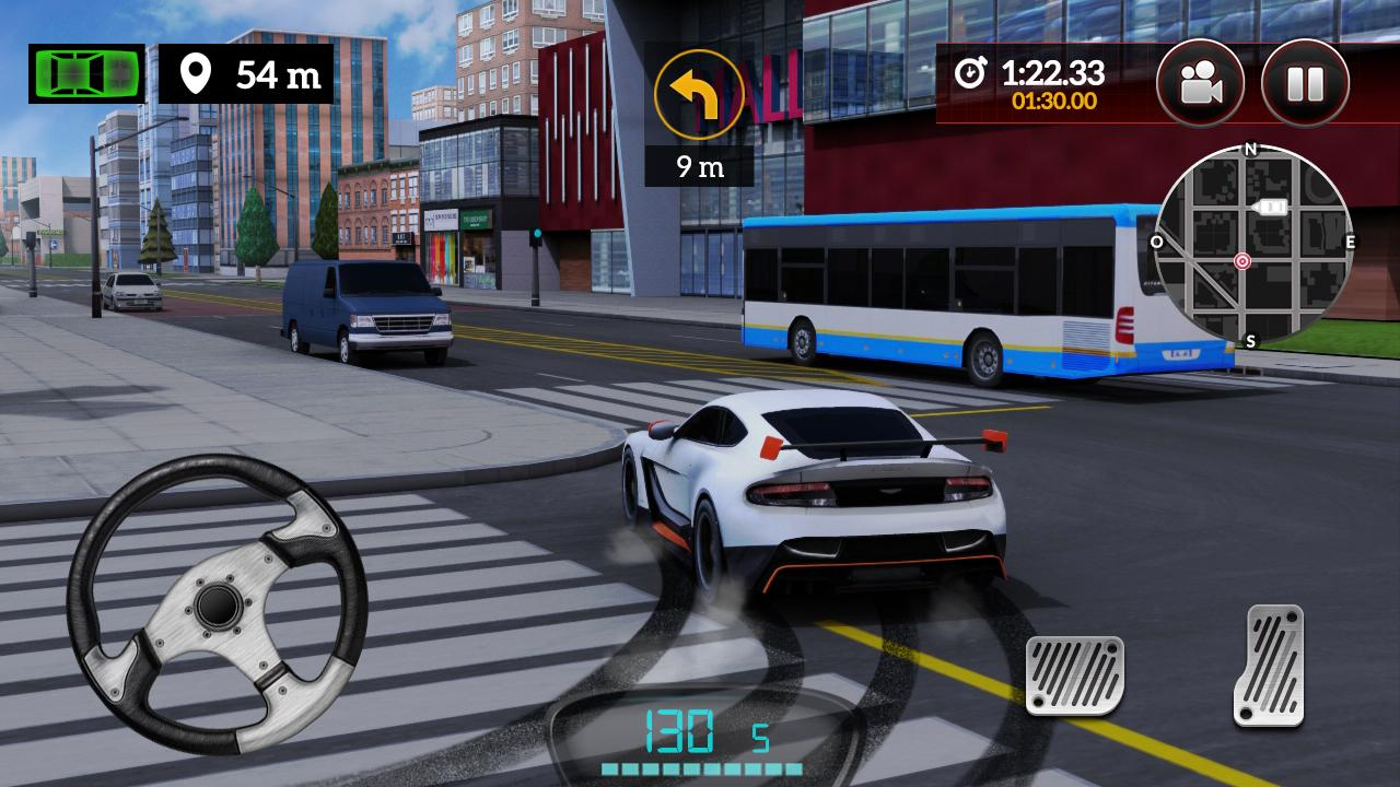 Android Drive for Speed: Simulator Screen 1