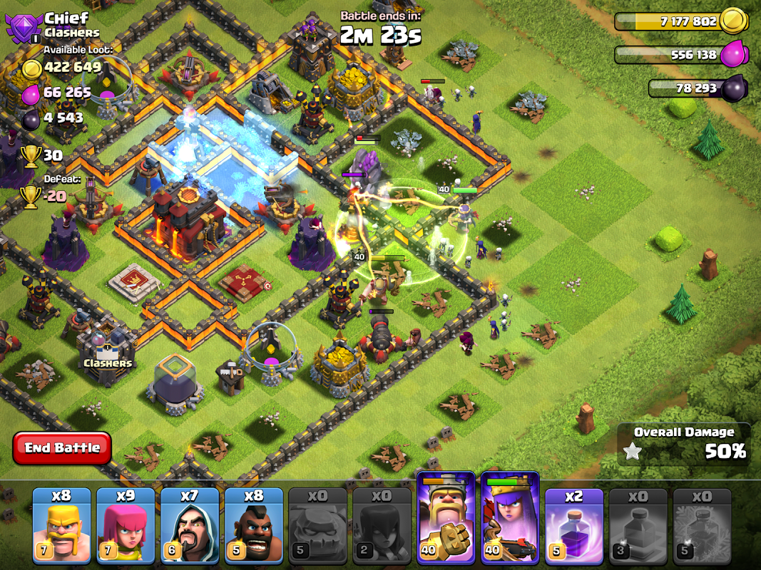 Android Clash of Clans Screen 6