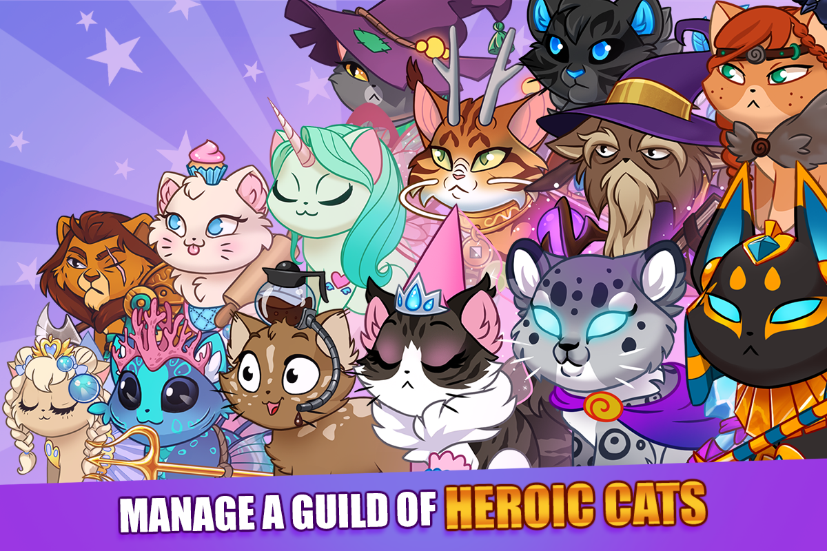 Android Castle Cats: Epic Story Quests Screen 10