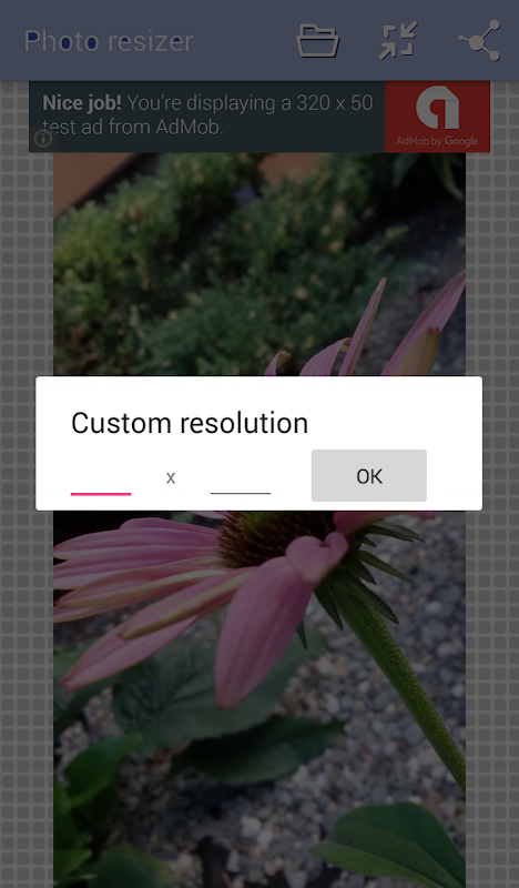 Photo Resize and Compress 1.2 Screen 3