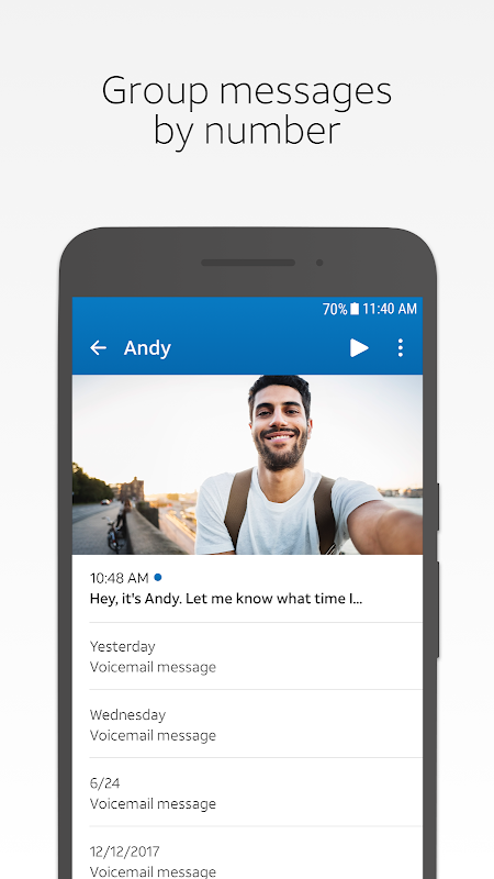 AT&T Visual Voicemail 4.3.0.0007 Screen 3