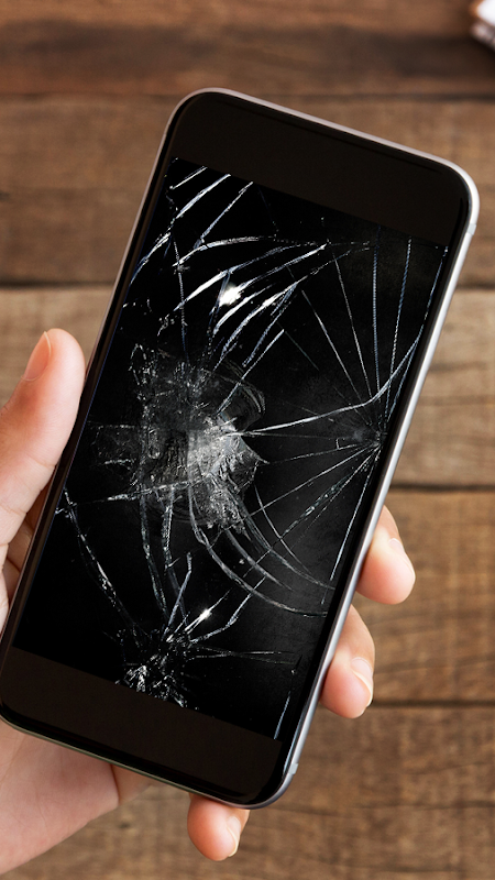 Android Cracked Screen Prank Screen 2