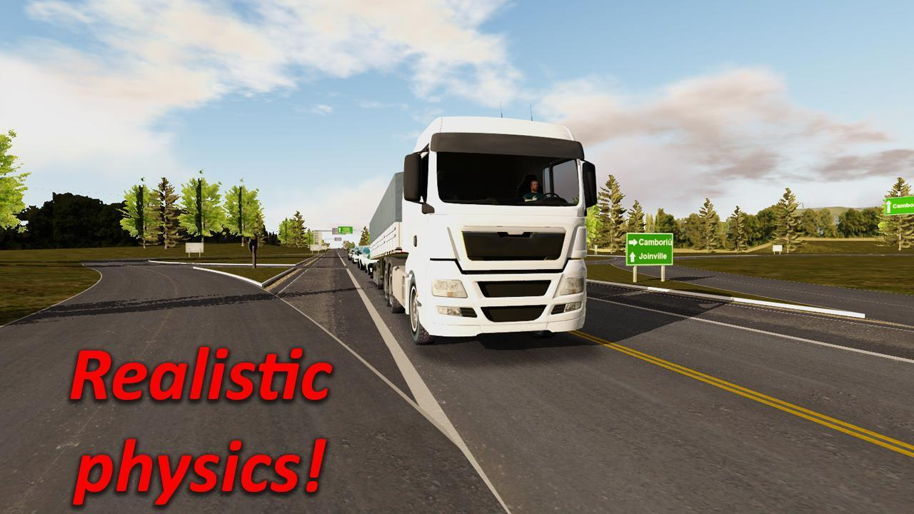 Android Heavy Truck Simulator Screen 4