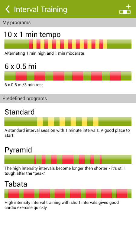 Android Endomondo Sports Tracker PRO Screen 5