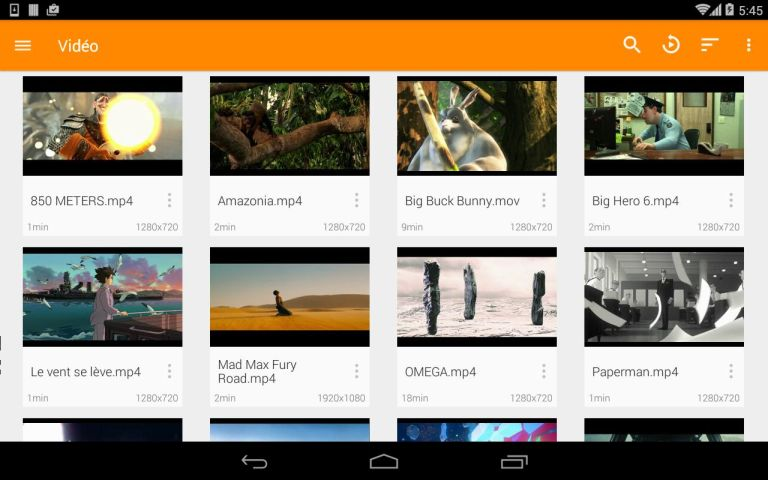 Android VLC for Android Screen 68