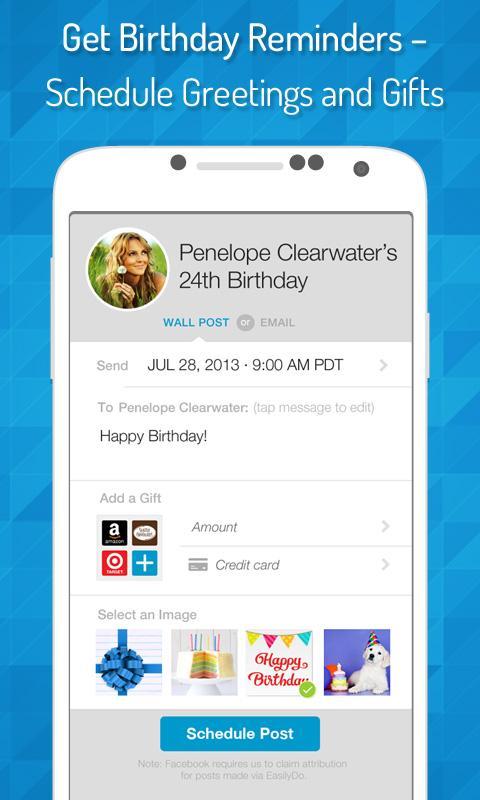 EasilyDo Smart Assistant 3.9.3 Screen 1