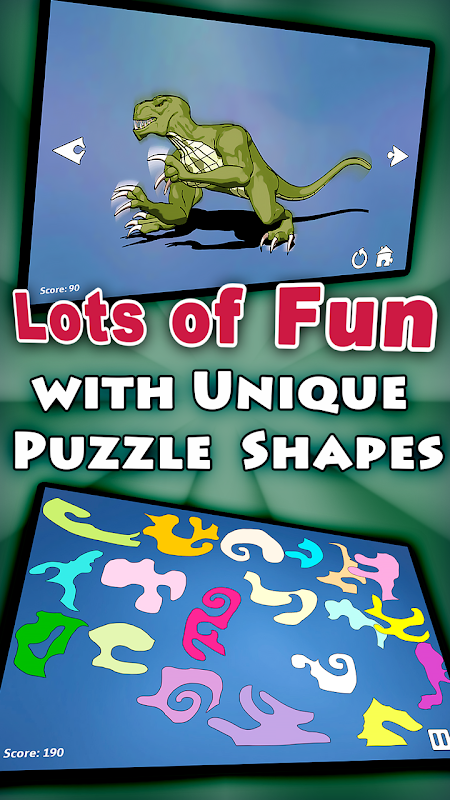 Android Shape Puzzles Pro - Assemble Screen 3
