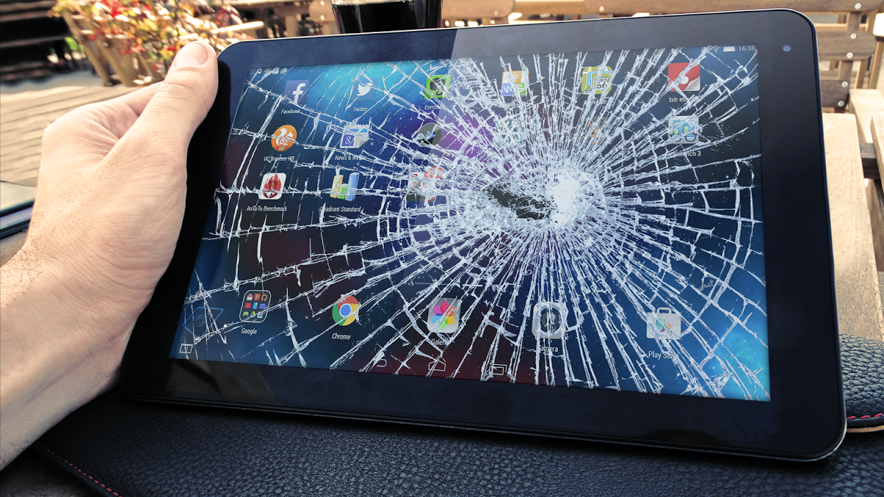 Android Cracked Screen Prank Screen 6