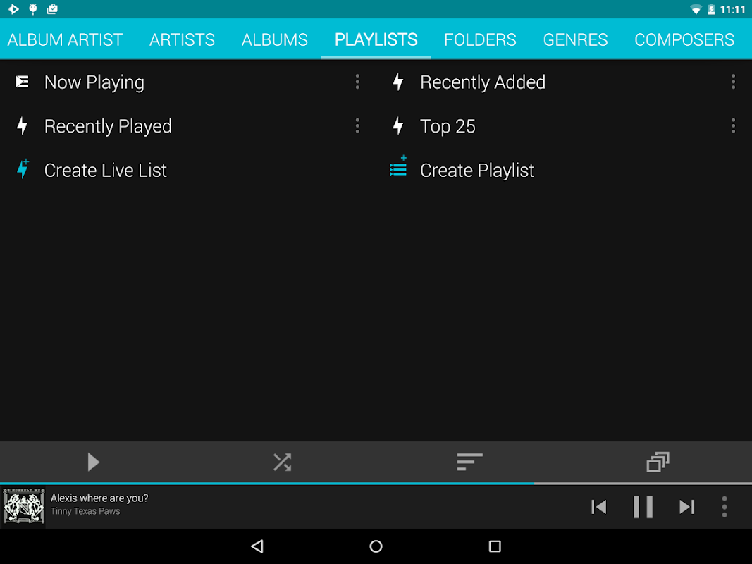 Rocket Player : Music Player 5.6.38 Screen 13