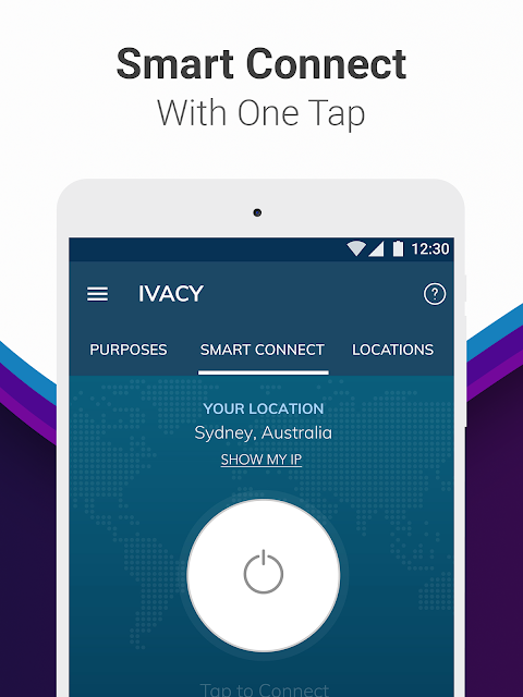 Android Ivacy VPN - Best Fast VPN Screen 7