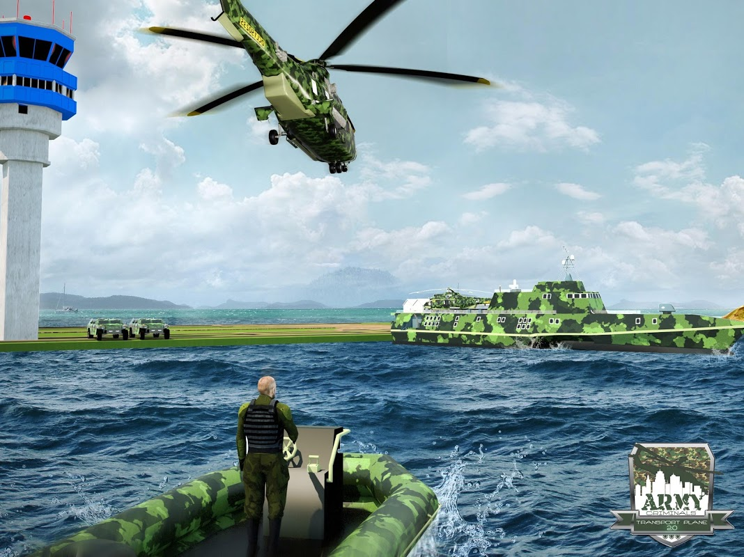 Army Criminals Transport Plane 2.0 1.0.1 Screen 10