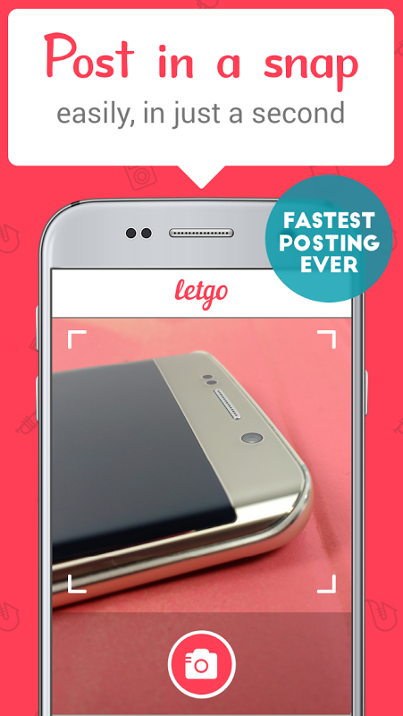 letgo 1.8.1 Screen 1