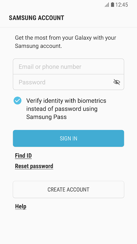 Android Samsung Experience Service Screen 2