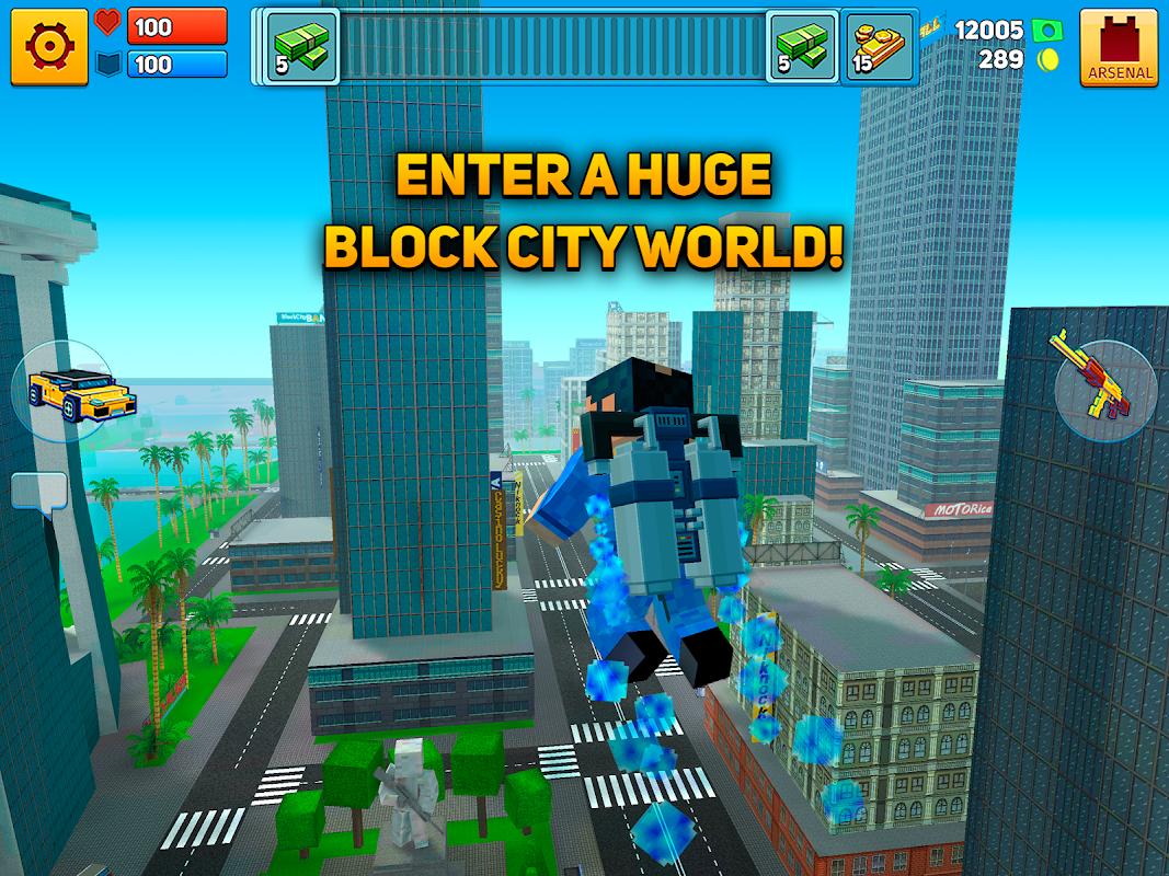 Block City Wars + skins export 7.1.4 Screen 1