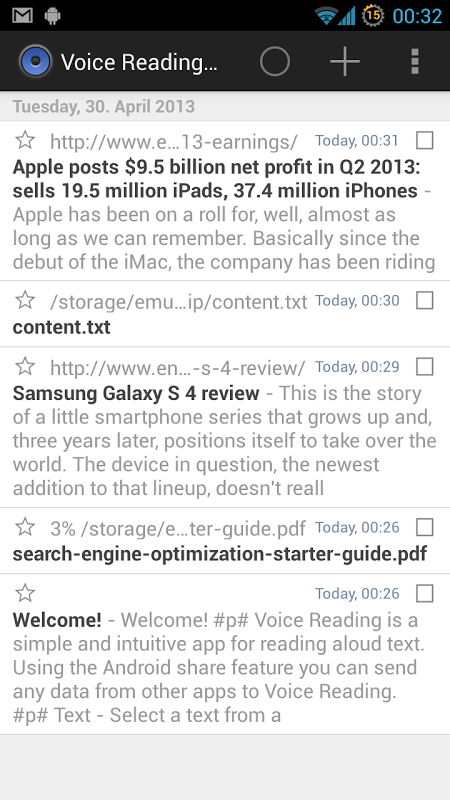 Voice Reading Pro APKs   Android APK