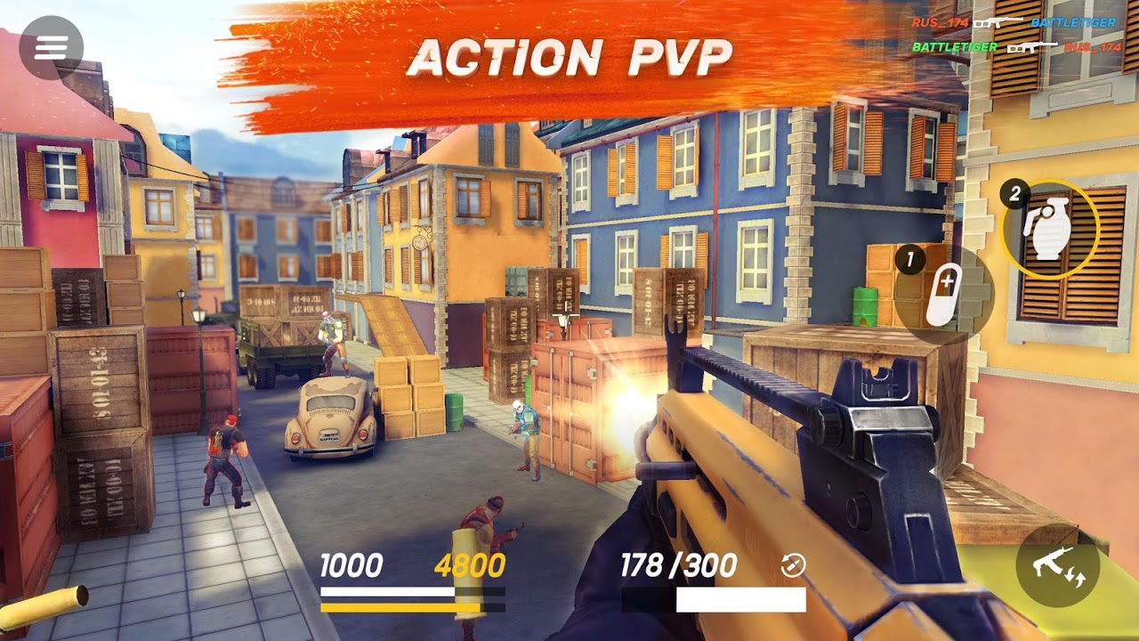 Android Guns of Boom - Online Shooter Screen 6