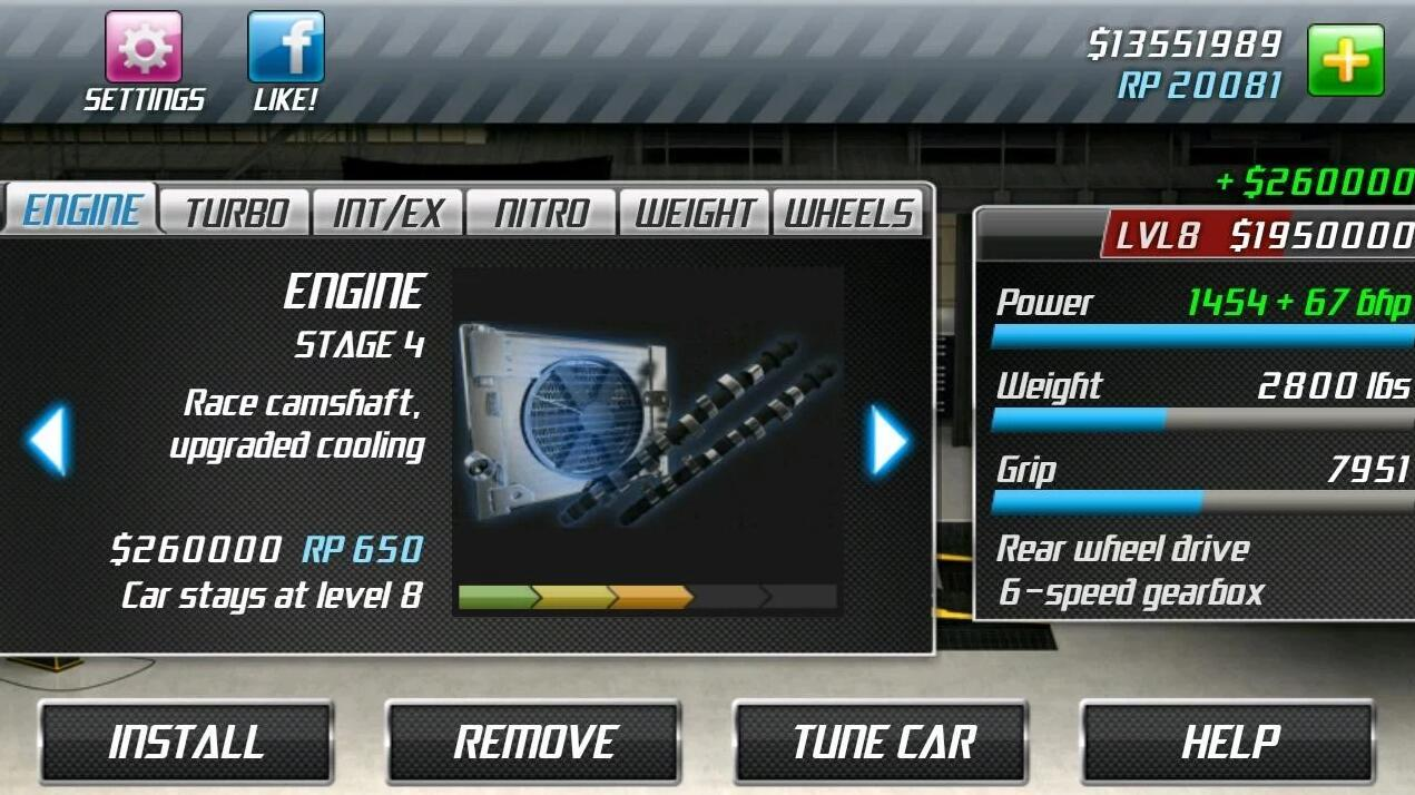 Drag Racing 1.7.63 Screen 4
