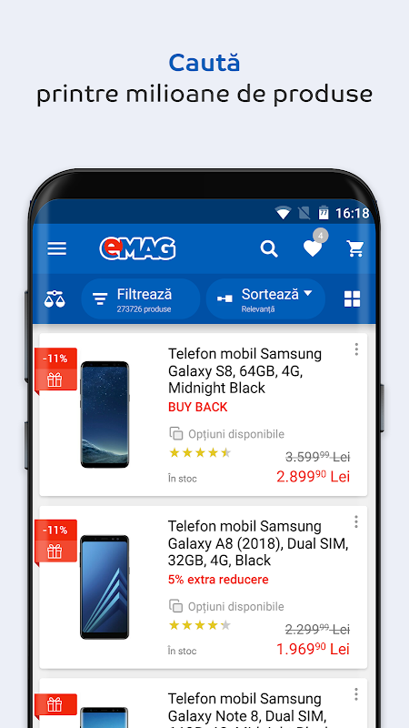 Android eMAG.ro Screen 3