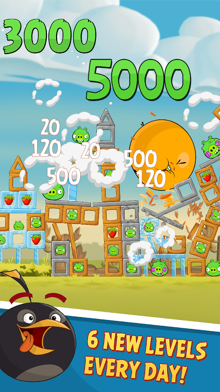 Android Angry Birds Screen 4