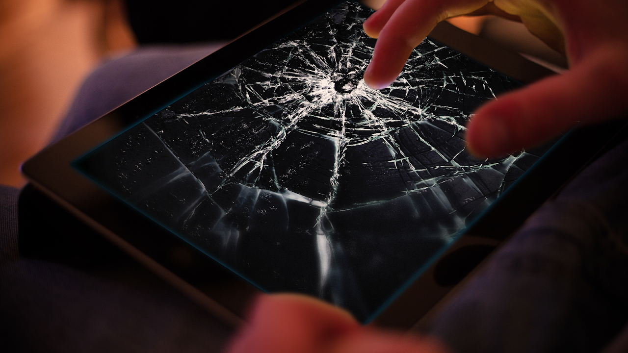 Android Cracked Screen Prank Screen 5